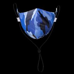 Blue Camo Neck Strap