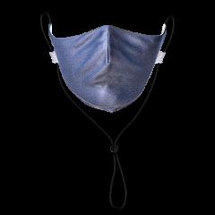 Dark Charcoal Grey Solid Neck Strap
