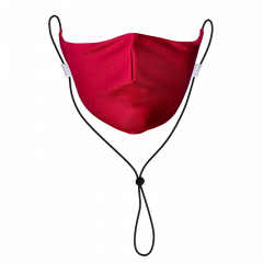 Red Solid Neck Strap
