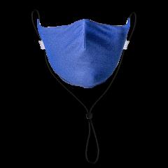 Royal Blue Solid Neck Strap